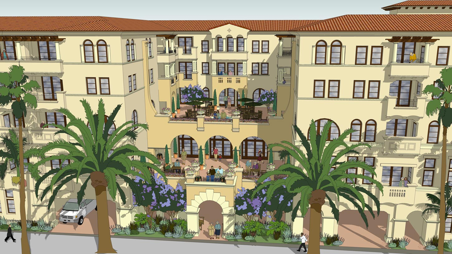 Spanish colonial architecture characteristics - Spectacular Spanish Colonial Revival Style Architecture Features Sun Filled Courtyard